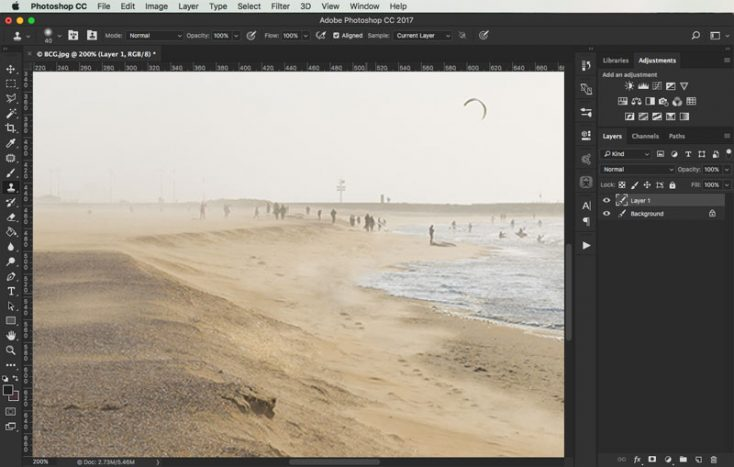 removing objects from images in photoshop 5