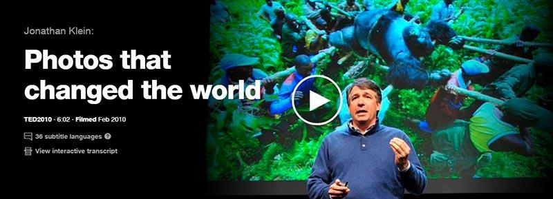 ted talks photos that changed the world