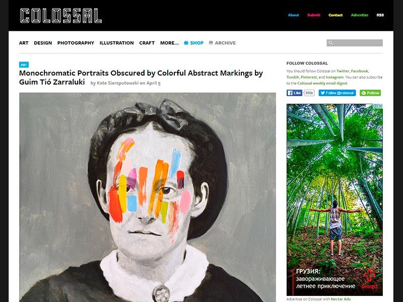 websites and blogs for inspiration art design photography thecolossal