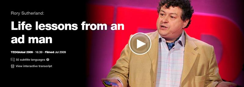 Rory Sutherland Life lessons from an ad man