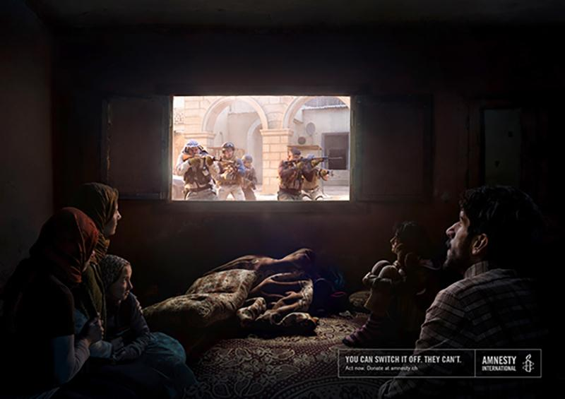 creative advertising amnesty international