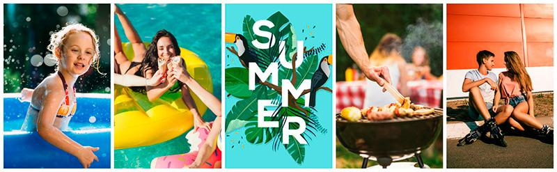 featured collection summer vibes