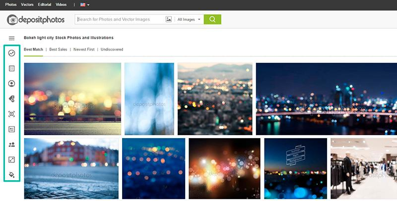 how to improve stock photo search