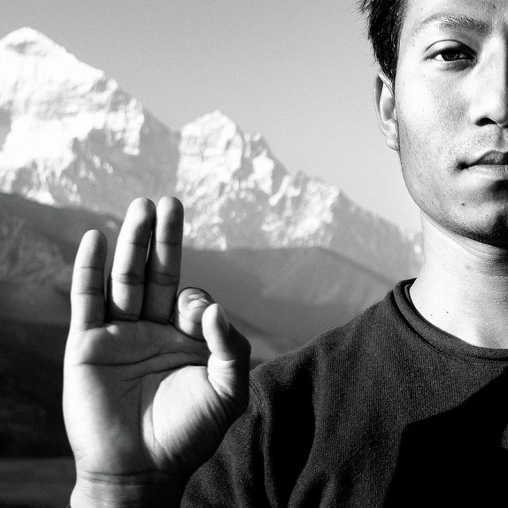 Portrait Project: Karnesh – Yogi from the Land of Snow Peaks and Milky Rivers