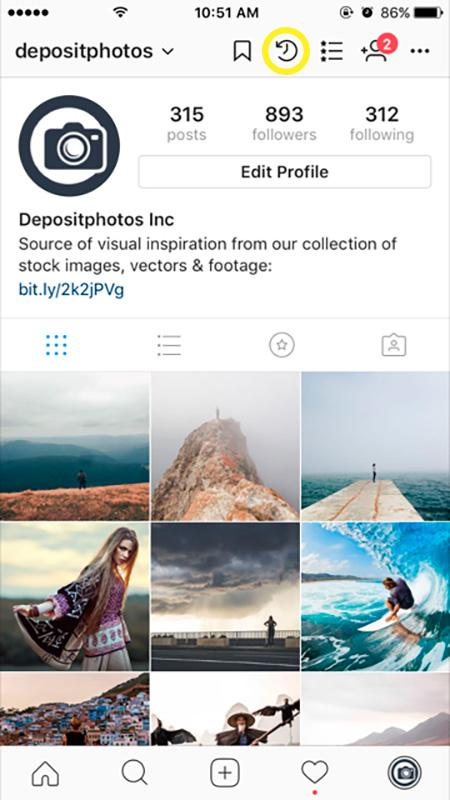 how to archive your posts on instagram