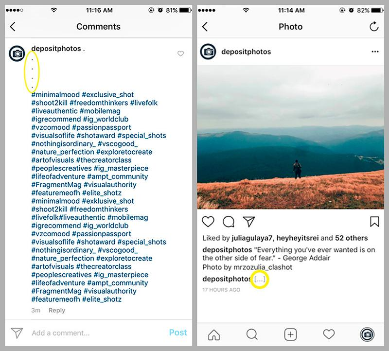 how-to-hide-hashtags-on-Instagram