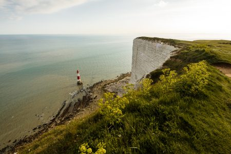 stock photo Seven Sisters cliff, UK
