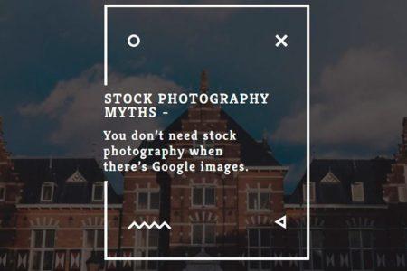 Stock photography myths 1