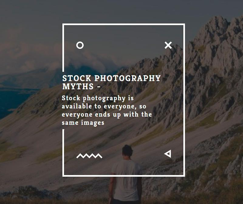 Stock photography myths 2