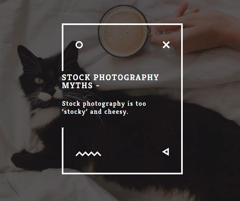 Stock photography myths 3