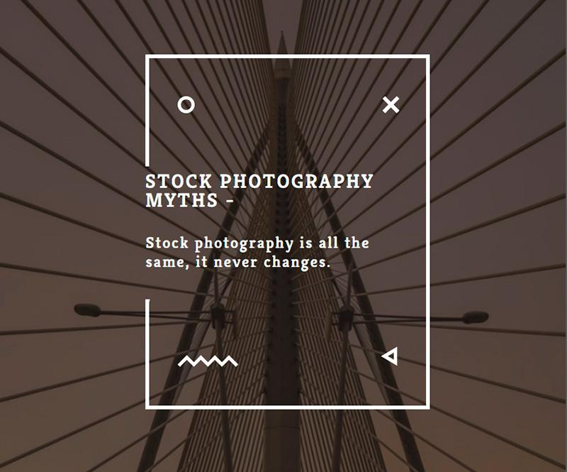 Stock photography myths 5