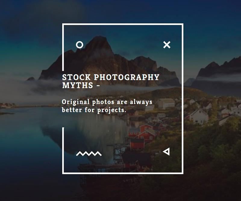 Stock photography myths 7