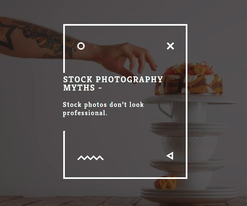 Stock photography myths 8