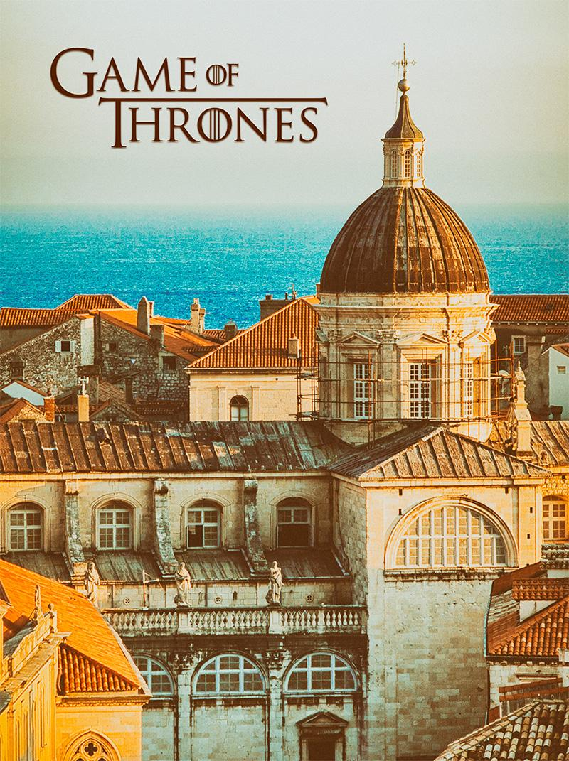 game of thrones posters fan art stock photography