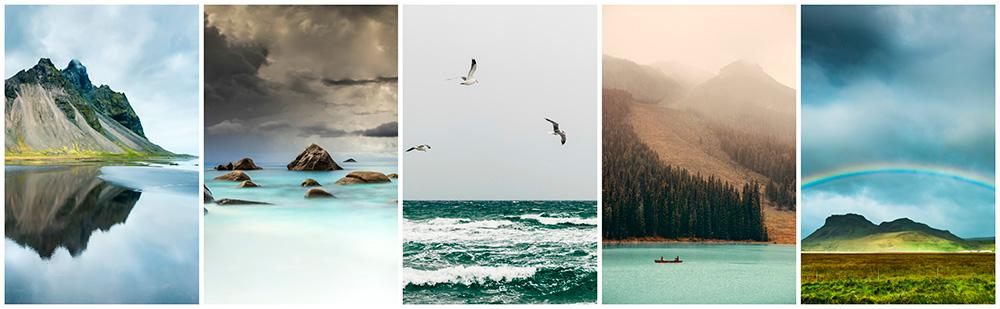soothing nature backgrounds stock photography