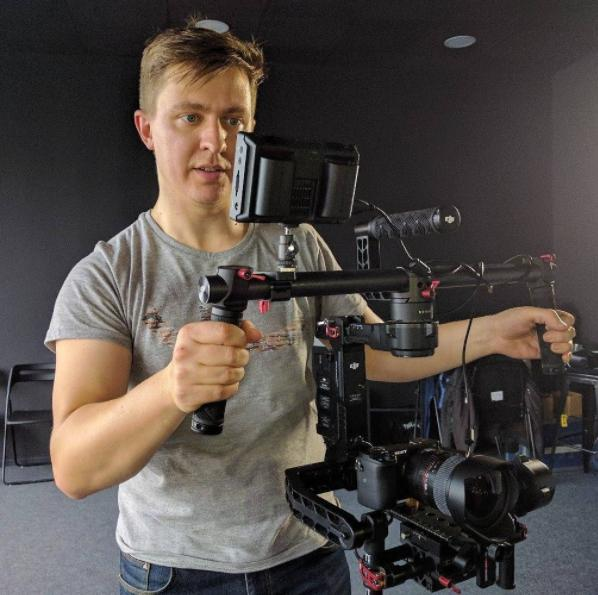 From sports to space: Interview with videographer Evgenii Shkolenko