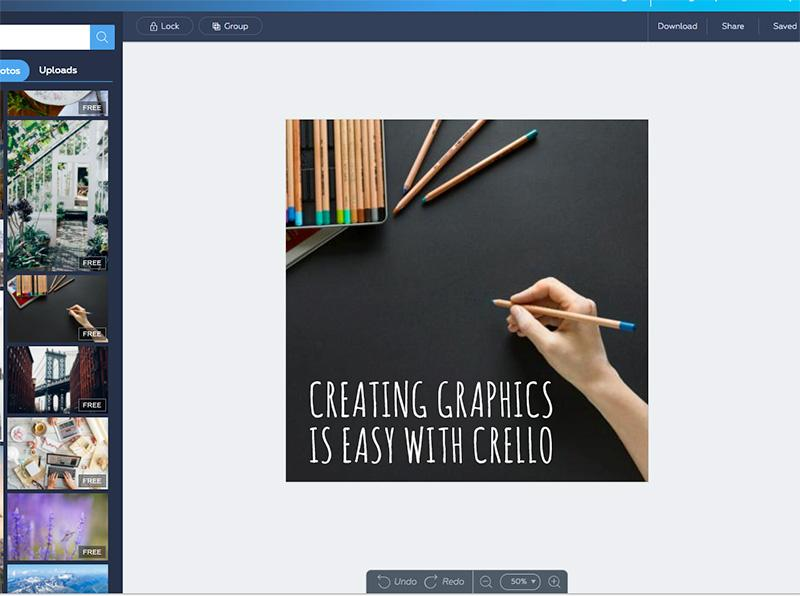 best online tools to edit photos Crello