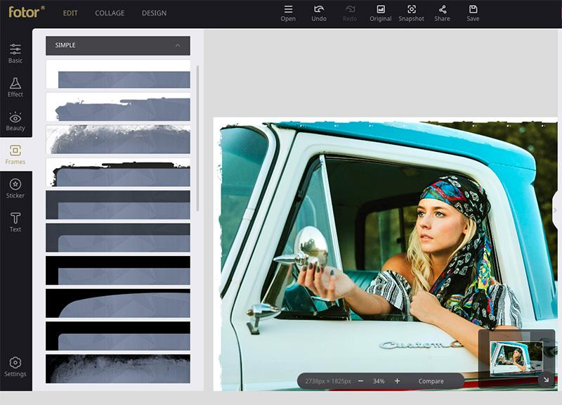 best online tools to edit photos Fotor editor 2 (2)