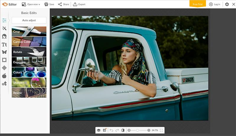 best online tools to edit photos pic  monkey