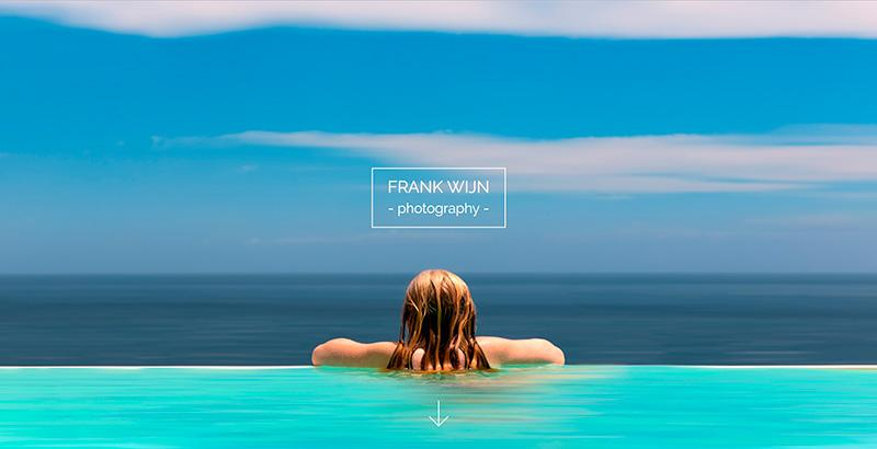 trendy websites and good uses of photography