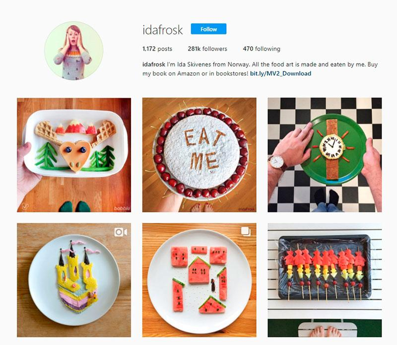 popular food instagrams