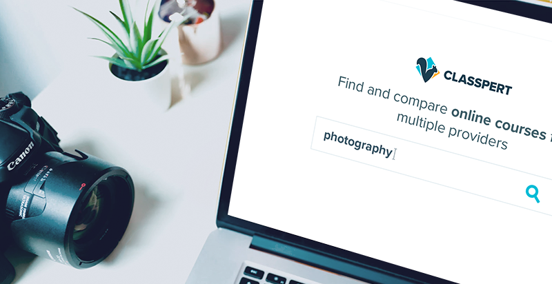 Find photography courses from the top providers on Classpert