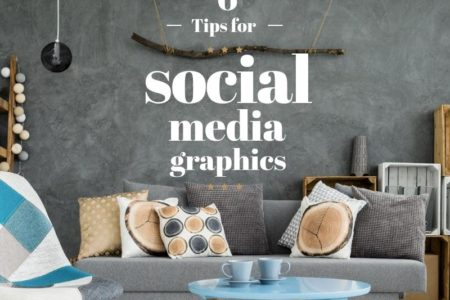 tips for social media graphics and visuals