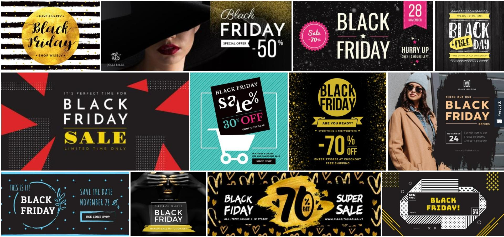 create black friday cyber monday campaigns diy