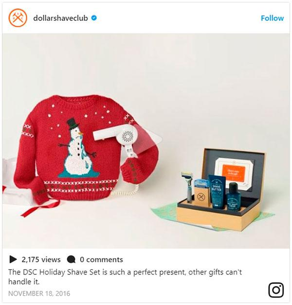 instagram christmas campaigns