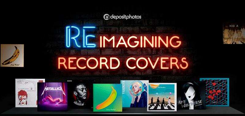 Reimagining Record Covers depositphotos