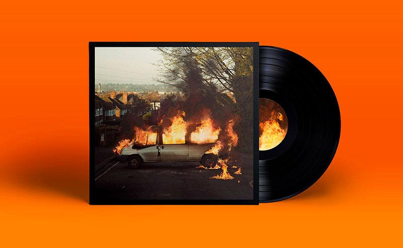 The Amazons Vinyl Record Mock up preview