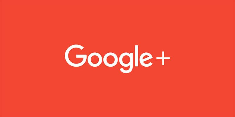 google+ logo 2018