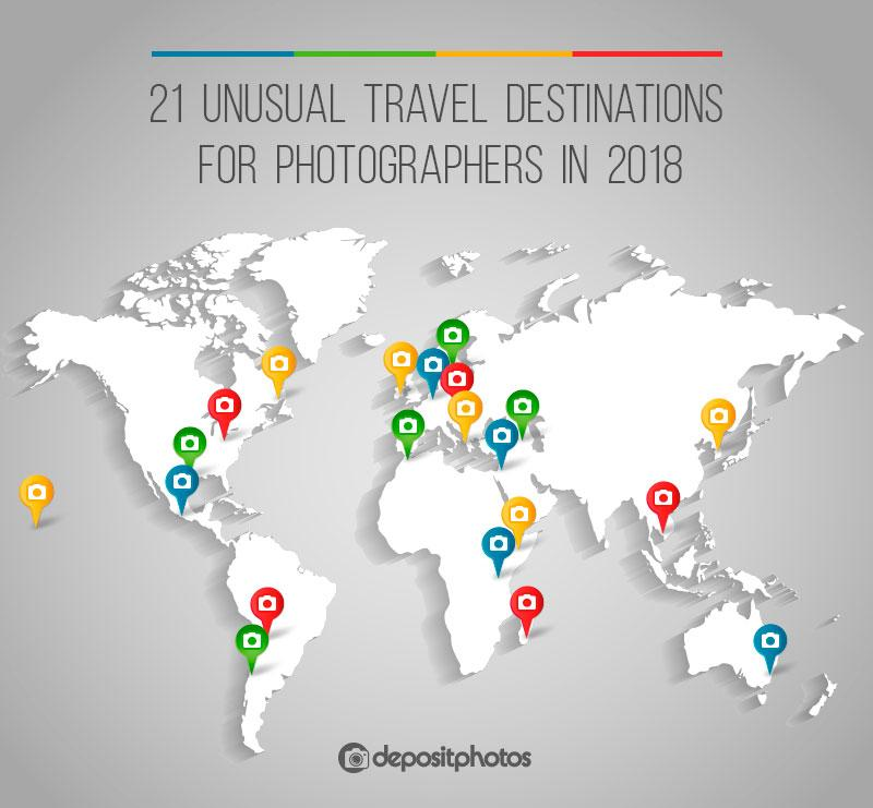 unusual travel destinations for photogrphers 2018