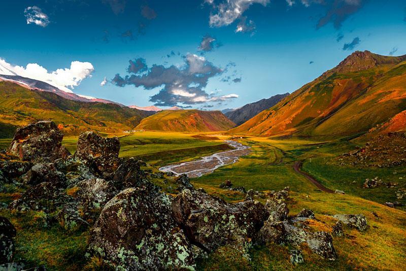 Picturesque picture of mountains Sergey Tinyakov's portfolio