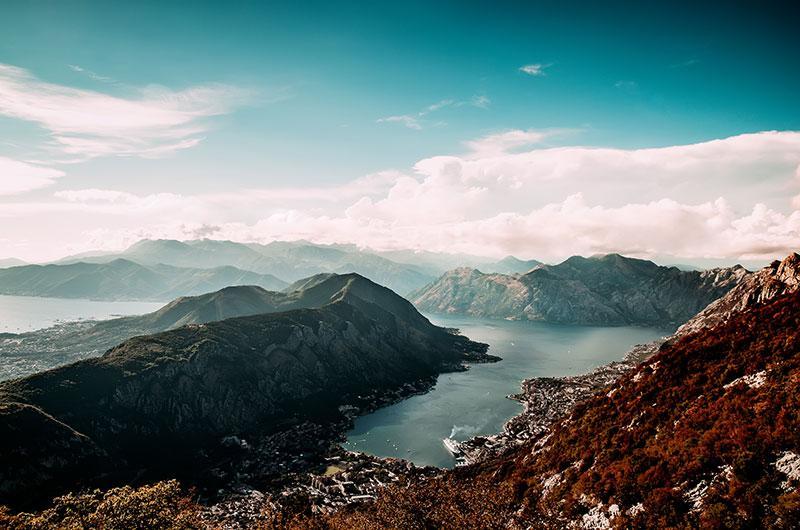 Kotor Bay Montenegro by bnenin