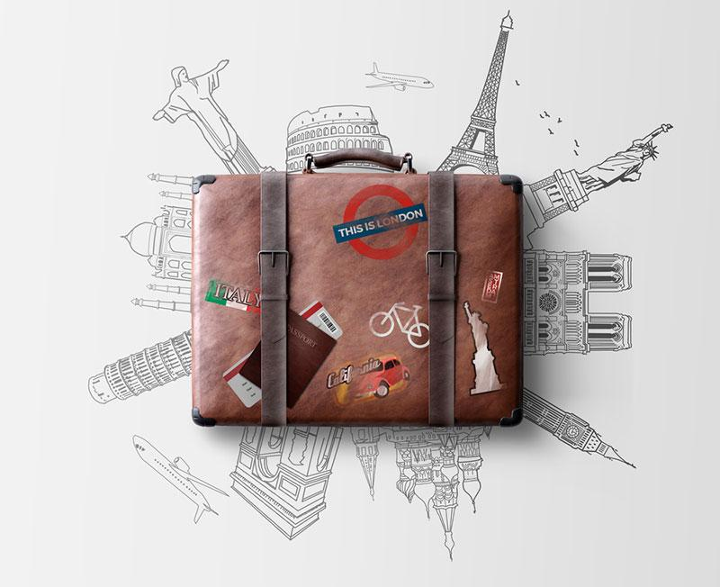 Egor Shkolnikov photography   suitcase and travels