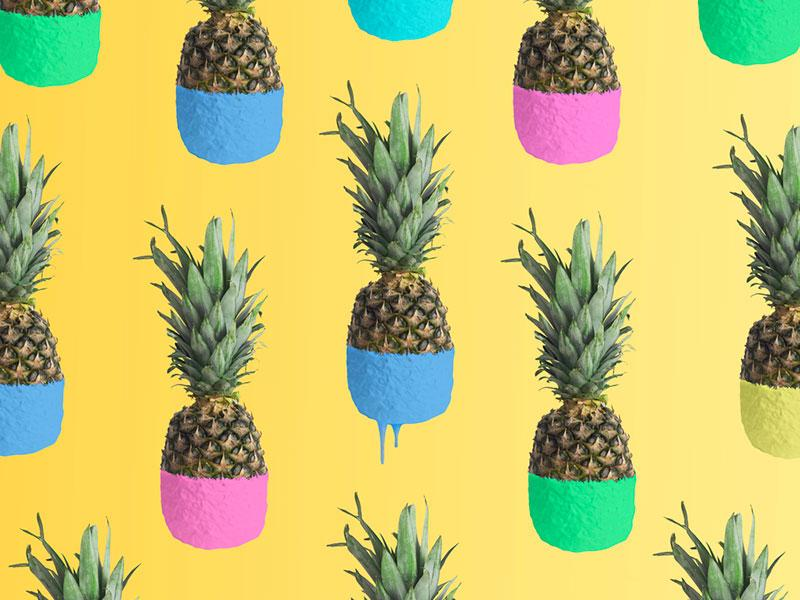 Egor Shkolnikov photography   abstract and colorful pineapple background