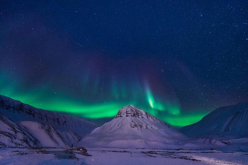 Polina Bublik photography aurora