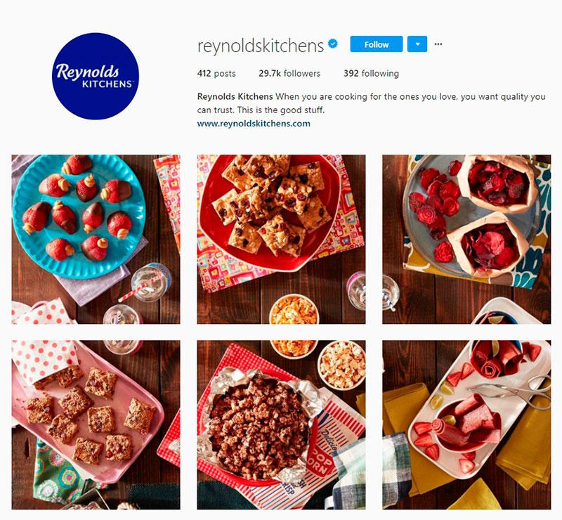 reynold's kitchen instagram account