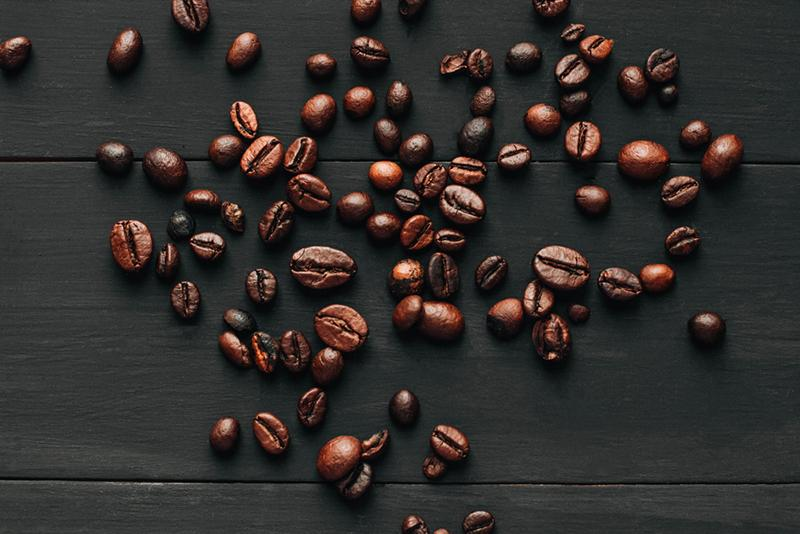 Anna Georgievna stock photography coffee beans