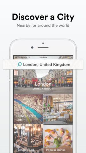 Spot explore the best places app screenshot