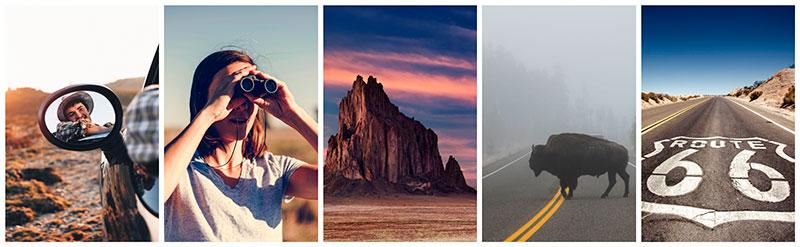 american roadtrip stock photography collection depositphotos