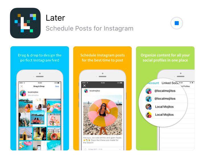 later app screen shot