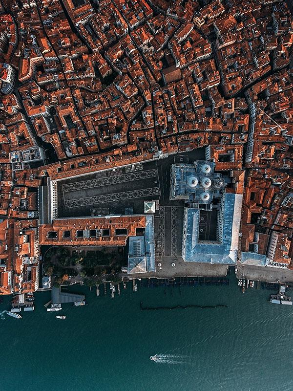 top behance photography projects   venice from above 2