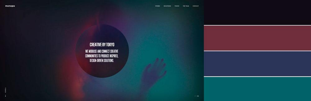 website color palettes 2018 12