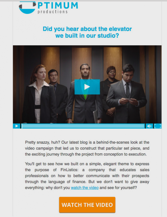8 using video in emails to promote updates