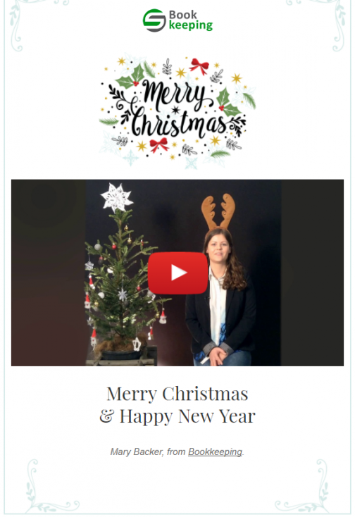 9 using video in emails for greetings