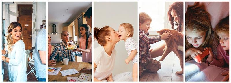 featured collection modern family