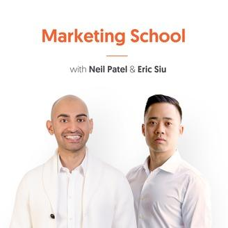 marketing podcasts   Marketing School With Neil Patel