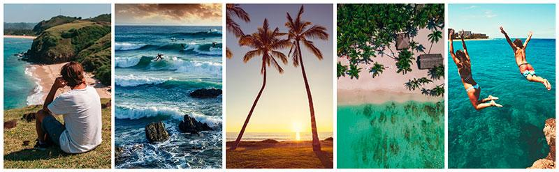 stock photography beach vacations